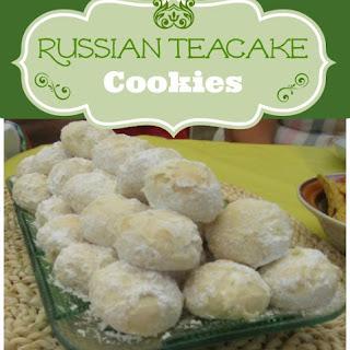 Russian Teacake Cookie Recipe Mexican Wedding Cake - Swedish Tea Cake Cookies