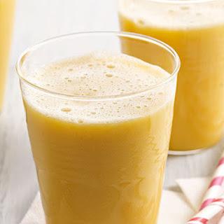 Pineapple-Orange-Mango Smoothie.