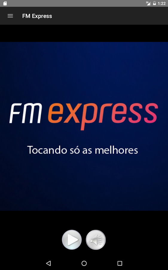 FM Express: captura de tela