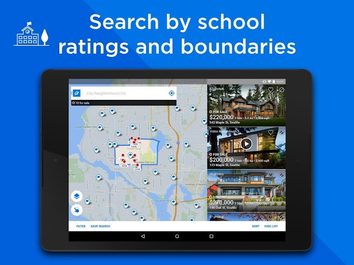 Screenshot 7 for Zillow's Android app'