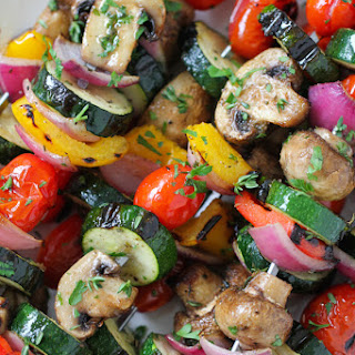 Grilled Vegetable Kebabs Recipes