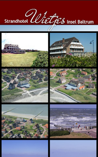 Strandhotel Wietjes Baltrum - screenshot thumbnail