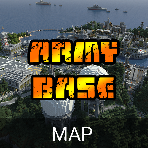 Army Base Map For Minecraft PE