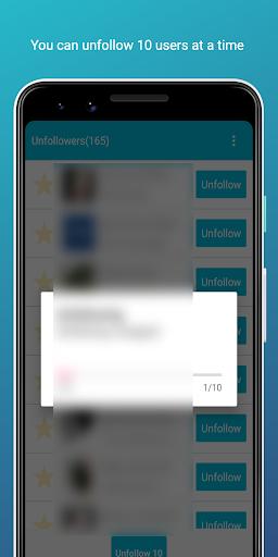 Unfollow Users Plus screenshots 2