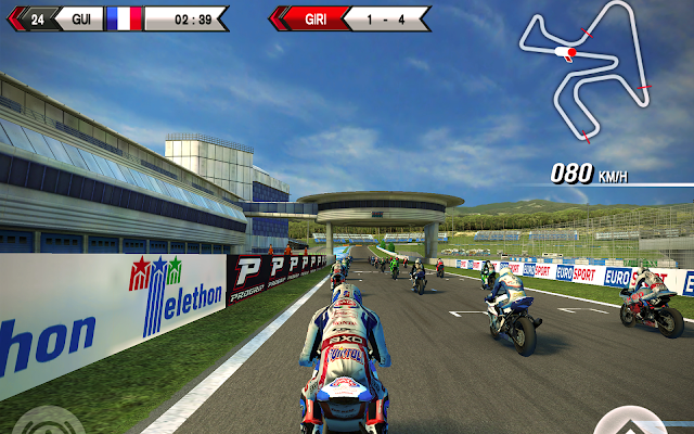 SBK15 Official Mobile Game - screenshot
