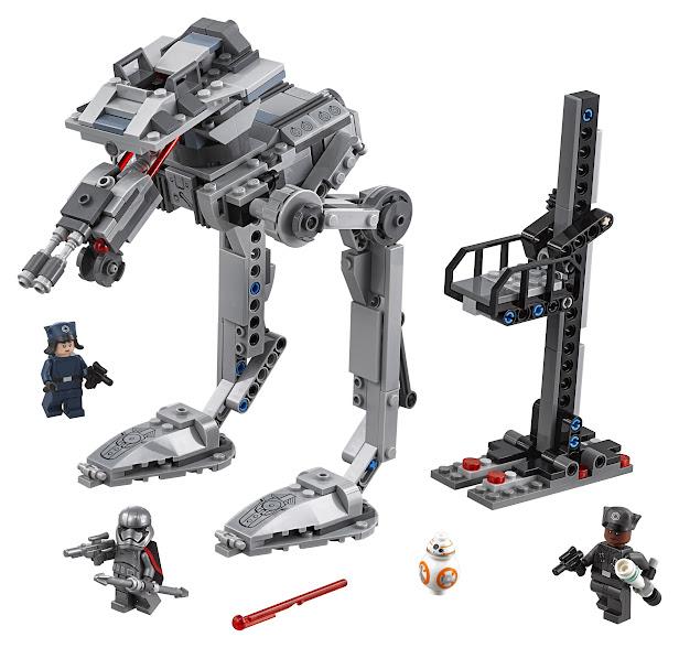 Contenido de Lego® 75201 AT-ST™ de la Primera Orden