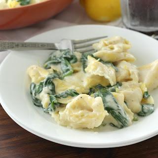 Cheese Tortellini In Cream Sauce Recipes.