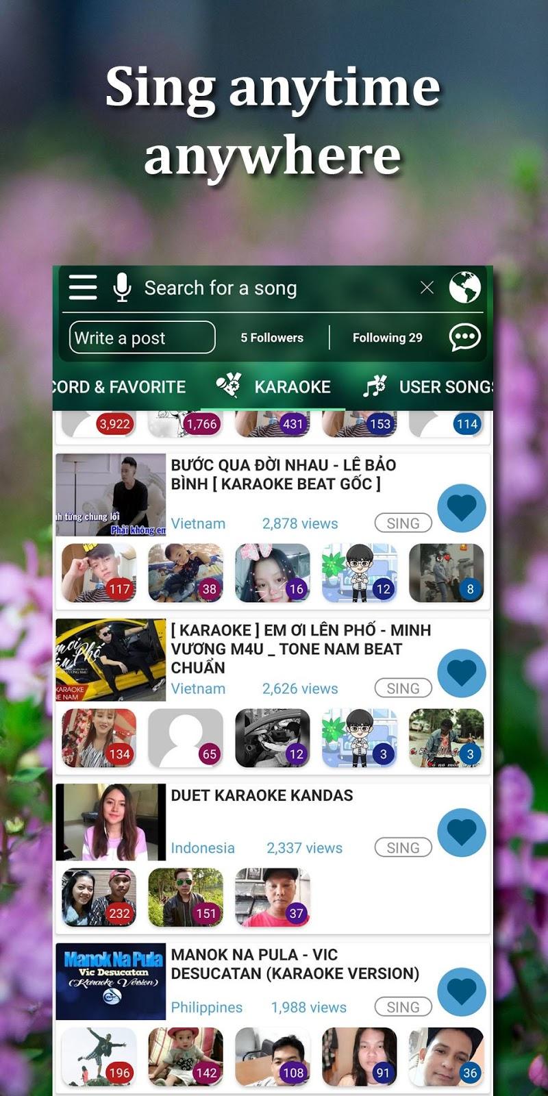 Kakoke-sing karaoke, voice recorder, singing app v4.7.3 [PRO] APK [Latest]