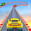 Offroad Jeep Driving Tricky Stunt Master icon