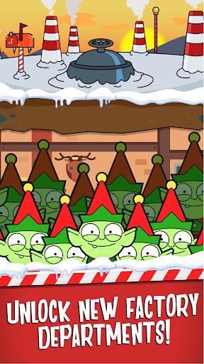 Code Triche Santa's Capitalist Factory - Idle Xmas Tycoon  APK MOD (Astuce) screenshots 4