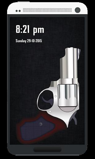 Pistol Lock Screen