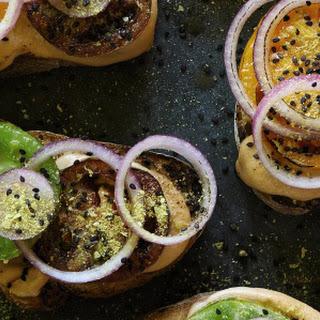 Heirloom Tomato Saucy Toasts