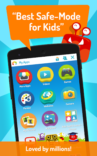 KIDOZ: Safe Mode with Free Games for Kids 4.0.4.2 screenshots 1