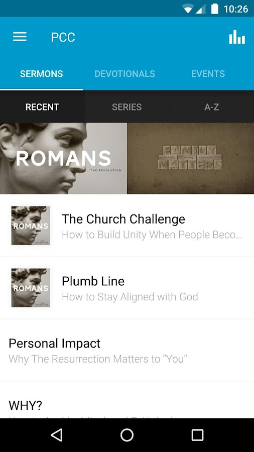 Pacific Coast Church- screenshot