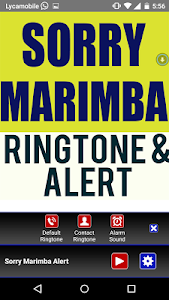 Sorry Marimba Ringtone screenshot 1