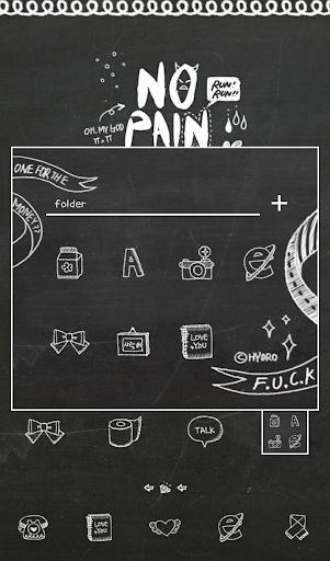 No Pain No Gain LINEランチャー テーマ|玩個人化App免費|玩APPs