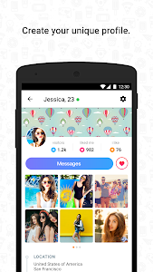 Hitwe - meet people for free screenshot 1