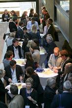 Photo: Get Together im ARD Hauptstadtstudio - 57. Jahrestagung der Deutschen Gesellschaft für Publizistik- und Kommunikationswissenschaft vom 16. bis 18. Mai 2012 in Berlin - Mediapolis: Kommunikation zwischen Boulevard und Parlament