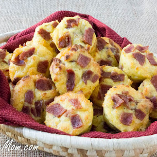 Low Carb Cheesy Bacon (Fat Head) Biscuits Recipe