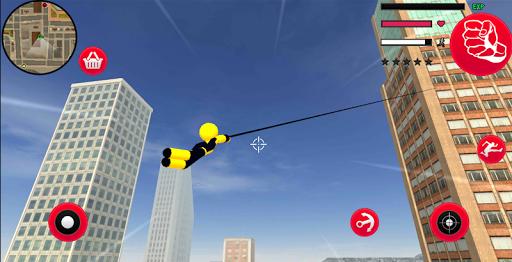 Mafia Spider Stickman Rope Hero Vegas Gangster screenshot 6