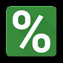 Material Interest Calculator icon