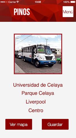 android Tu ruta - Celaya,  Guanajuato Screenshot 4