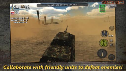 Attack on Tank : Rush - World War 2 Heroes screenshots 2