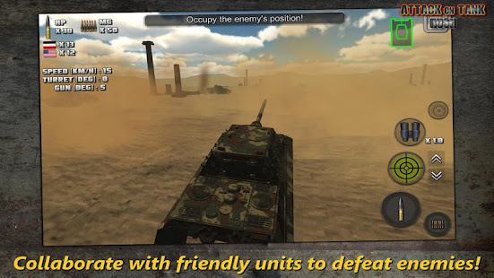 Attack on Tank : Rush - Heroes of WW2 Mod