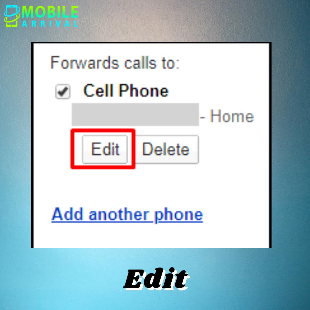 Edit to Fix Google Voice Not Forwarding Texts