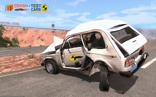 Car Crash Test NIVA  captures d'u00e9cran 5