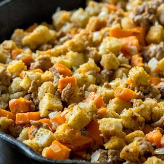 Sweet Potato Turkey Skillet.