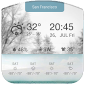 3D Daily Weathe Forecast Free❆