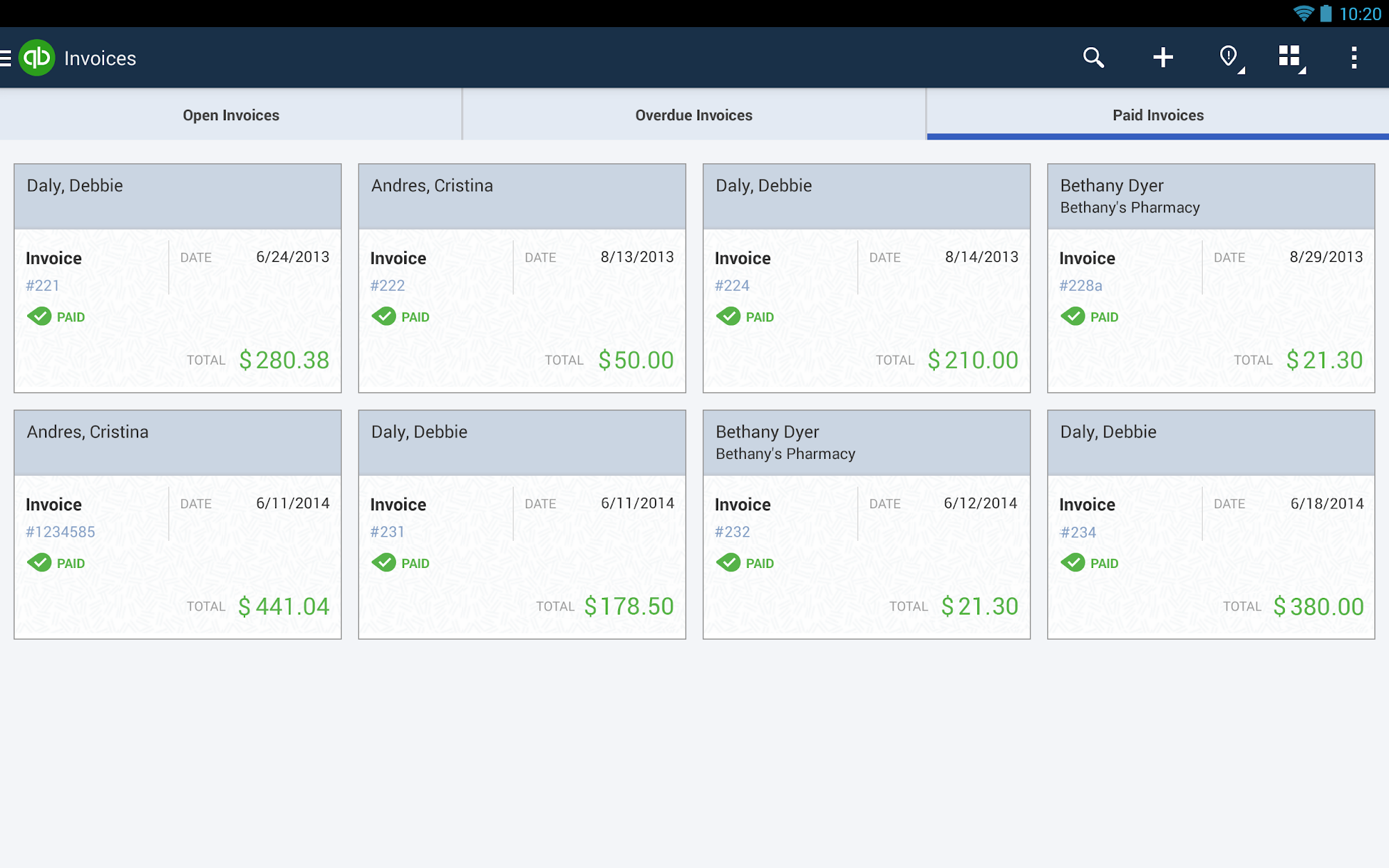 QuickBooks Accounting+Invoice screenshot #13
