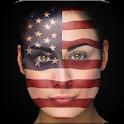 Flag Rio 2016 Football icon