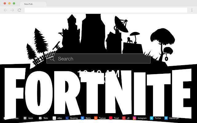 Fortnite Popular Games New Tabs HD Themes