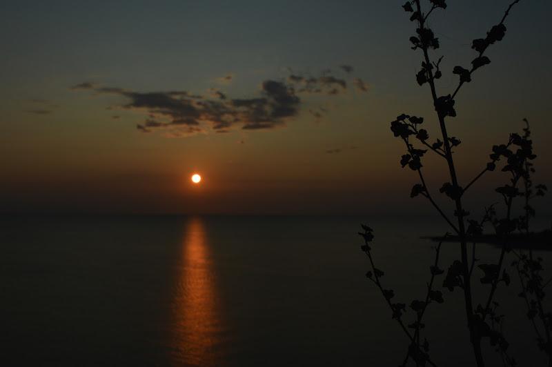 Tramonto sul mare di luca_cazzella