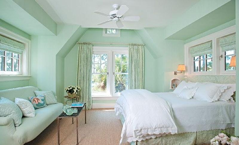 Xanh pastel là một trong những tông màu mới lạ được ưa chuộng.