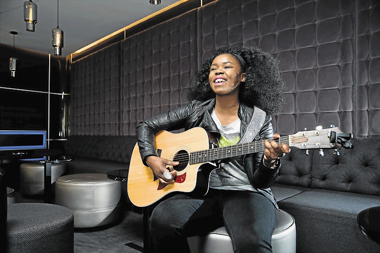 Zahara is happy with her new man who is five years younger than her.