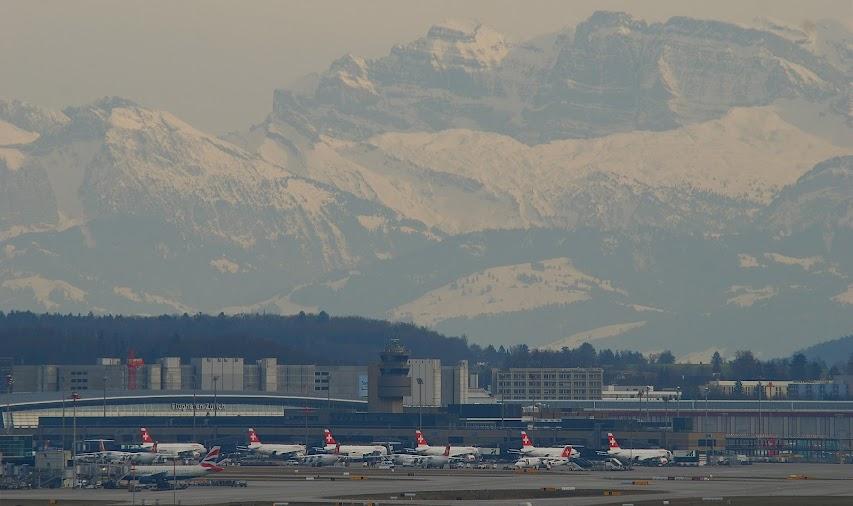 2) Zurich Kloten International Airport, Switzerland (ZRH)