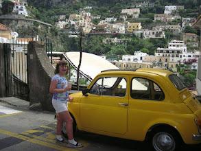 Photo: This little car suits Charlotte