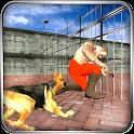 Prison Escape Crime Police Dog icon