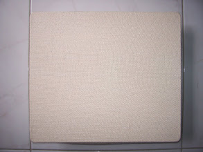 Photo: Lap-desk 1-2 the back of Sunflowers painting. Color: beige woven.