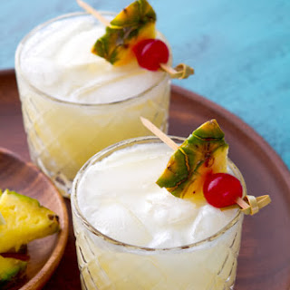 Pina Colada with a twist.