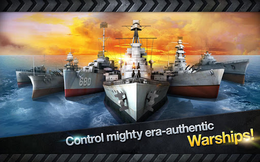 WARSHIP BATTLE:3D World War II apkdebit screenshots 10