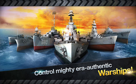 WARSHIP BATTLE:3D World War II 1.0.4 screenshot 848