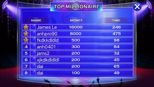 Millionaire Quiz 2018 - Trivia Game Free 2.3 screenshots 17
