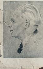 Photo: Portrait, Bleistift, Kohle, Kreide, 1959 - vekauft