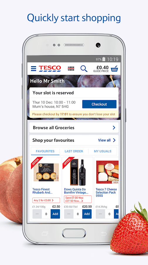 Tesco Grocery Home Delivery- screenshot