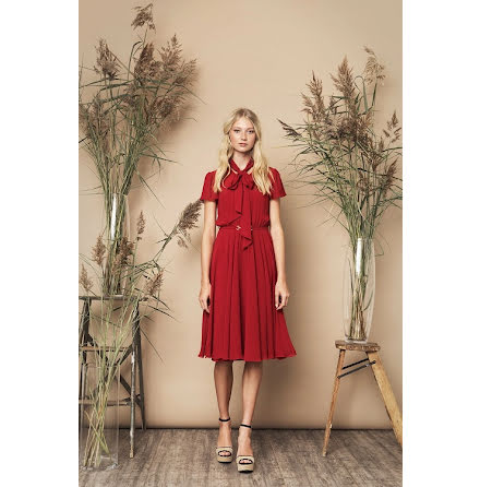 Polly Dress, Red - Ida Sjöstedt