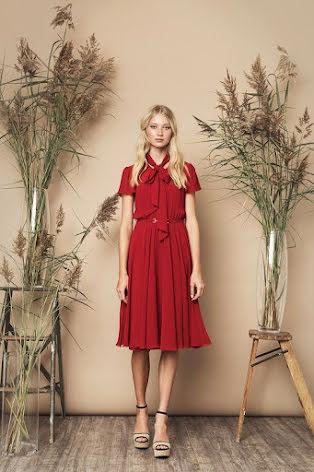 Polly Dress, Red - Ida Sjöstedt